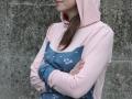 Kapuze auf hoodie fuer frKapuze aufgesetzt vom Hoodie für Frauen - JanaKnöpfchen Nähblog. Nähen für jungsauen. janaknoepfchen naehblog