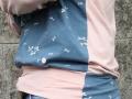 seitliches Detail Hoodie fuer frauen. janaknoepfchen naehblog. nähen für frauen