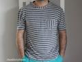 T-Shirt fuer Maenner. Schnitt Max von Pattydoo. JanaKnoepfchen Naehblog
