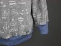 detail bauchbund shirt fuer jungs. janaknoepfchen. nähen für jungs - nähblog