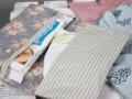 wickelutenslio mit babyset bestehend aus einer Babyhose und einem Tuch. JanaKnöpfchen - Nähen für Jungs. Nähblog