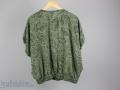 Rückseite der Vintage 80er Jahre Bluse für Frauen. JanaKnöpfchen. Nähen für Jungs