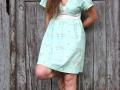 Burda Kleid vorne. JanaKnoepfchen naehen fuer jungs
