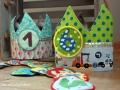 Zwei Geburtstagskronen für die Kita. Janaknöpfchen-nähen für Jungs