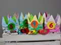 geburtstagskronen nähen für den Kindergarten. JanaKnöpfchen - Nähen für Jungs. Nähblog