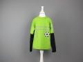 Geburtstagsshirt für Jungs Fussball nähen. JanaKnöpfchen - Nähen für Jungs