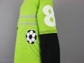 Geburtstagsshirt mit Fussballapplikation nähen. JanaKnöpfchen - Nähen für Jungs