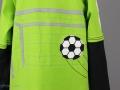 Geburtstagsshirt mit Fussball und Tor Applikation nähen. JanaKnöpfchen - Nähen für Jungs