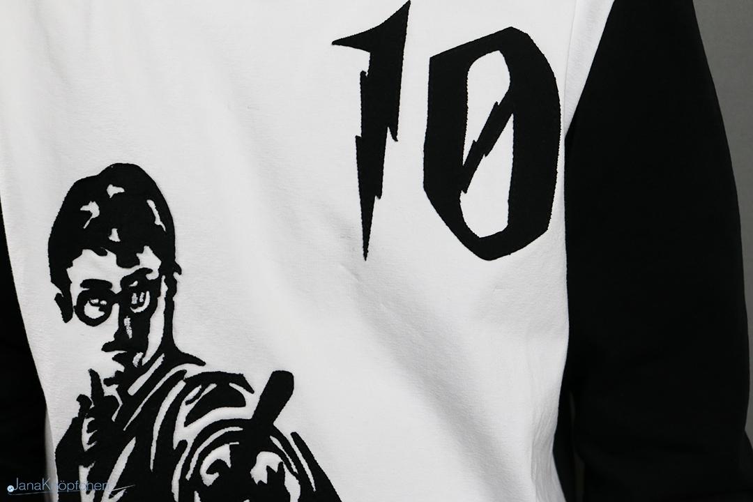 Selbstgenähtes Geburtstagsshirt mit Harry Potter. Jahresrückblick 2019 - JanaKnöpfchen. Nähen für Jungs