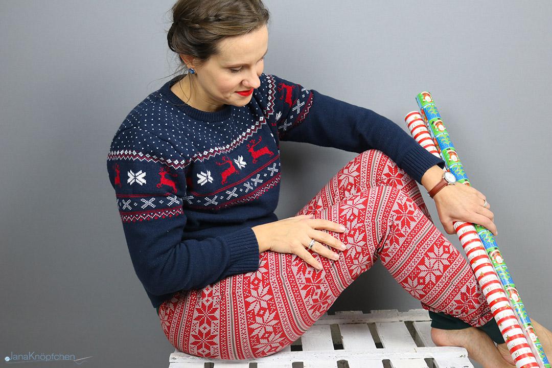 Selbstgenähte gemütliche Weihnachtshosen. Jahresrückblick 2019 - JanaKnöpfchen. Nähen für Jungs