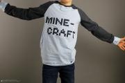 selbstgenähte Minecraft-Shirt für Jungs. JanaKnöpfchen - Nähen für Jungs