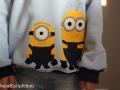 applikation minion hoodie tragebild. janaknöpfchen. nähen für jungs