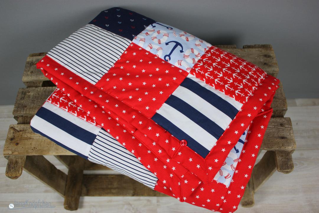 als babygeschenk eine patchworkdecke n hen geschenk zur geburt. Black Bedroom Furniture Sets. Home Design Ideas