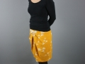 outfit mit kurzen rock selbstgenaeht. janaknoepfchen - nähblog