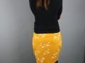 outfit mit kurzen selbstgenaehten rock. janaknoepfchen - nähblog