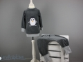 schlafanzug mit pinguin applikation naehen. JanaKnöpfchen. Nähblog - Nähen für Jungs