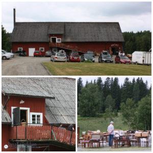 Flohmarkt in Schweden Lammhult. JanaKnöpfchen Nähblog