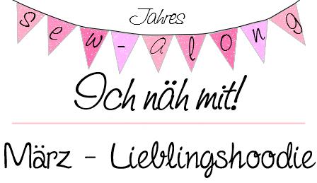 Ich näh mit Jahres Sew-Along von Fräulein An - März Lieblingshoodie