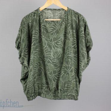 Vintage 80er Jahre Bluse selbstgenäht. JanaKnöpfchen - Nähen für Jungs