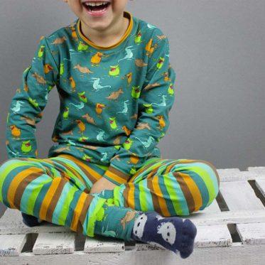 Blogbeitrag Mucklas Schlafanzug für Jungs nähen. JanaKnöpfchen - Nähen für Jungs