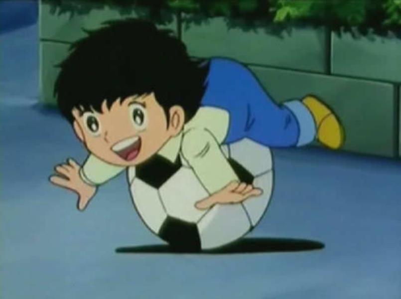 Blogbeitrag Geschenk zur Geburt mit Kindheitserinnerung captain-tsubasa. JanaKnoepfchen - Naehen fuer Jungs