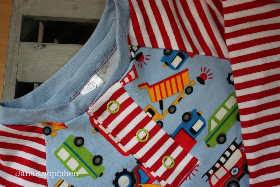 Baggershirt zum Geburtstag nähen. Geburtstagsshirt für Jungs. JanaKnöpfchen - Nähen für Jungs