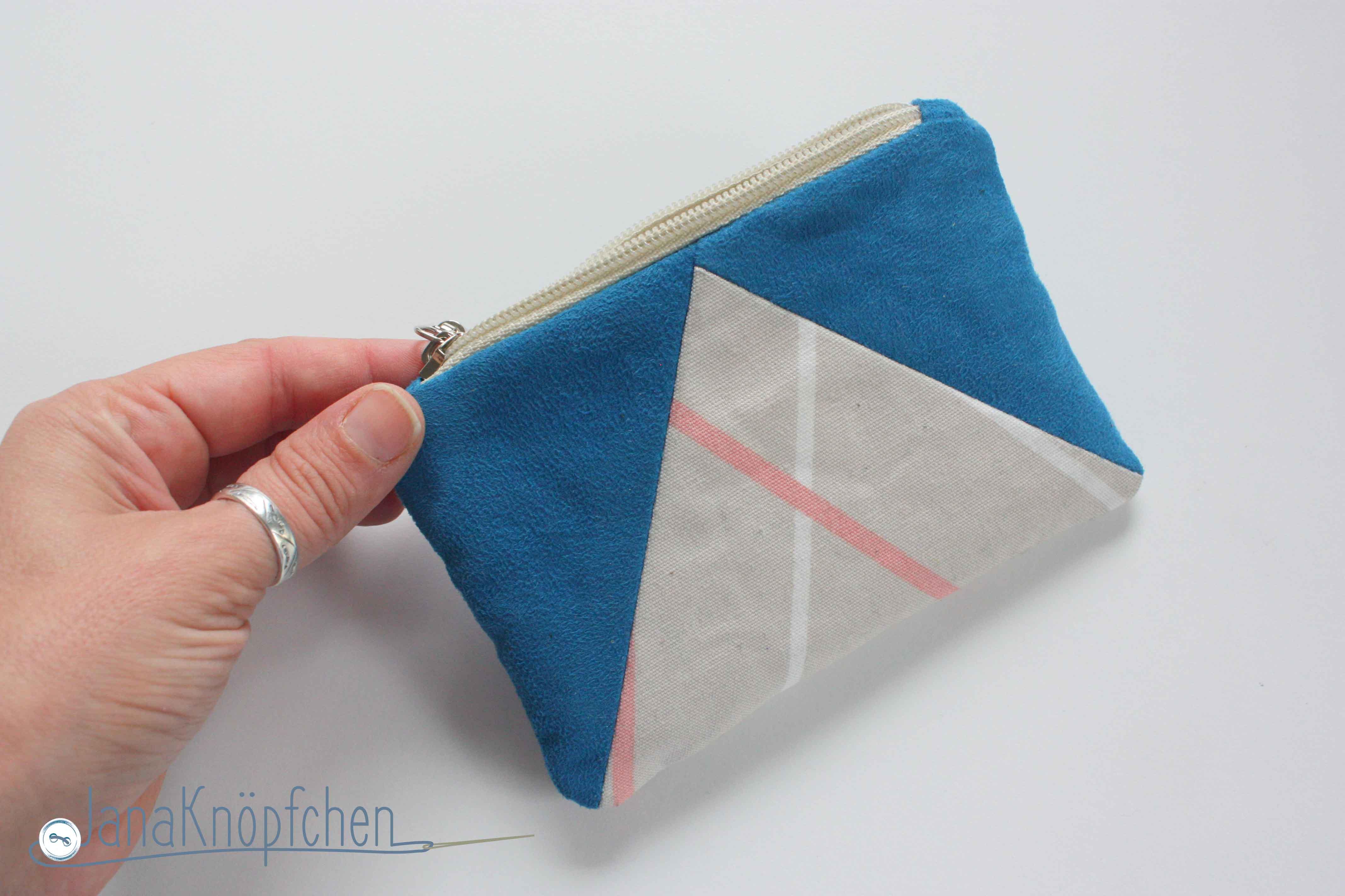 kleines portemonnaie selbst genaeht. janaknoepfchen naehblog