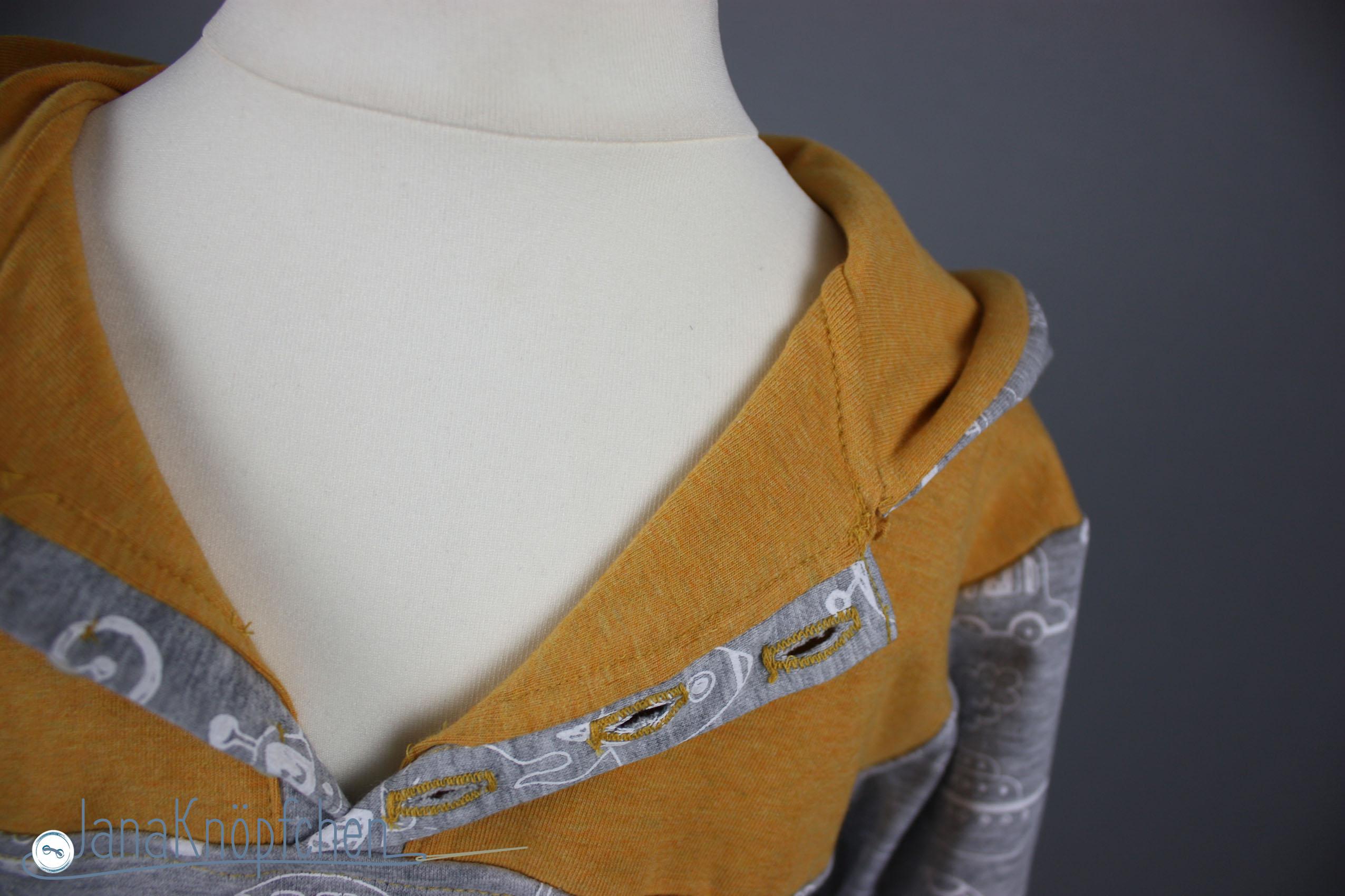 shirt mit knopfleiste naehen. janaknoepfchen. nähblog - nähen für jungs