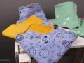 Selbstgenähte Babyset aus Hose und Tuch zur Geburt. Geschenk zur Geburt. JanaKnöpfchen - Nähen für Jungs