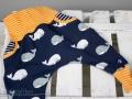 Selbstgenähte Babyhose mit Taschen LimeBux. JanaKnöpfchen - Nähen für Jungs. Nähblog