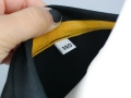 Selbstgenähtes Geburtstagsshirt - Detail Größeschild für selbstgenähte Kleidung. JanaKnöpfchen - Nähen für Jungs
