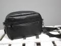 CamBag Tessa mit neuen Maßen - schwarze Lederhandtasche selbstgenäht. JanaKnöpfchen - Nähen für Jungs