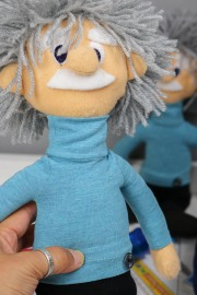 Albert Einstein als Filzpuppe. JanaKnöpfchen - Nähen für Jungs