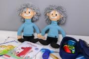 Einstein Puppen nähen. JanaKnöpfchen - Nähen für Jungs