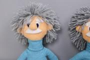 Einsteinpuppen für die Klasse 1a. JanaKnöpfchen - Nähen für Jungs