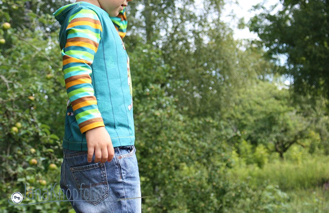 Shirt mit Findus nicht nur für den Schwedenurlaub nähen