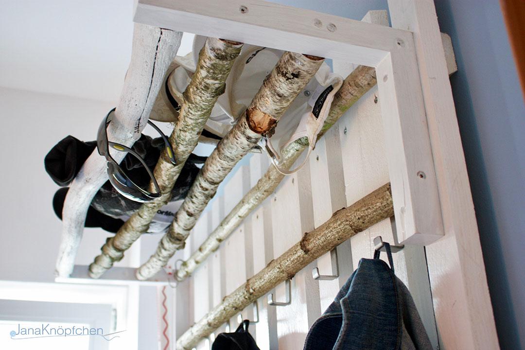 DIY Gardrobe Holz Ikea Hack.JanaKnöpfchen - Nähen für Jungs