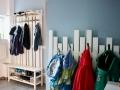 DIY Garderobe Kinder Flur. JanaKnöpfchen - Nähen für Jungs