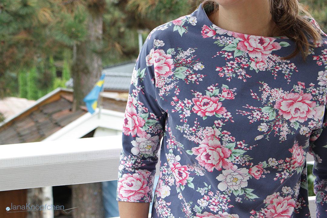 shirt frau nora mit rosen durch den herbst janakn pfchen. Black Bedroom Furniture Sets. Home Design Ideas