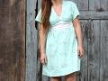 Burda Kleid vorderer Ausschnitt. JanaKnoepfchen naehen fuer jungs