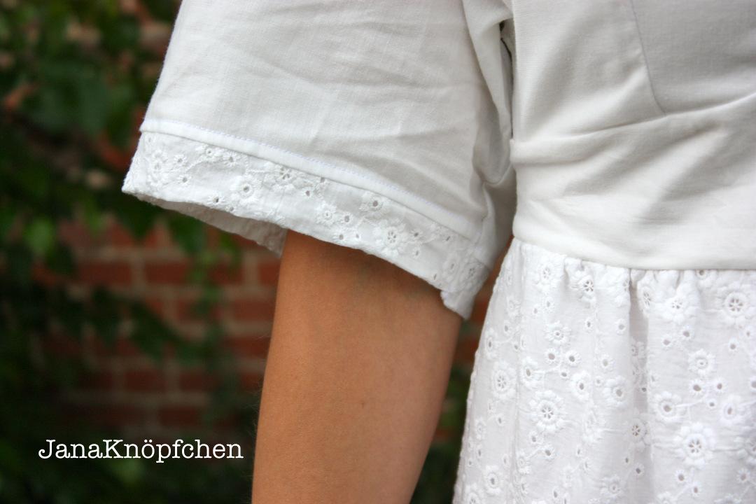 Selbstgenähtes Sommerkleid - Traum in weiß nur für mich