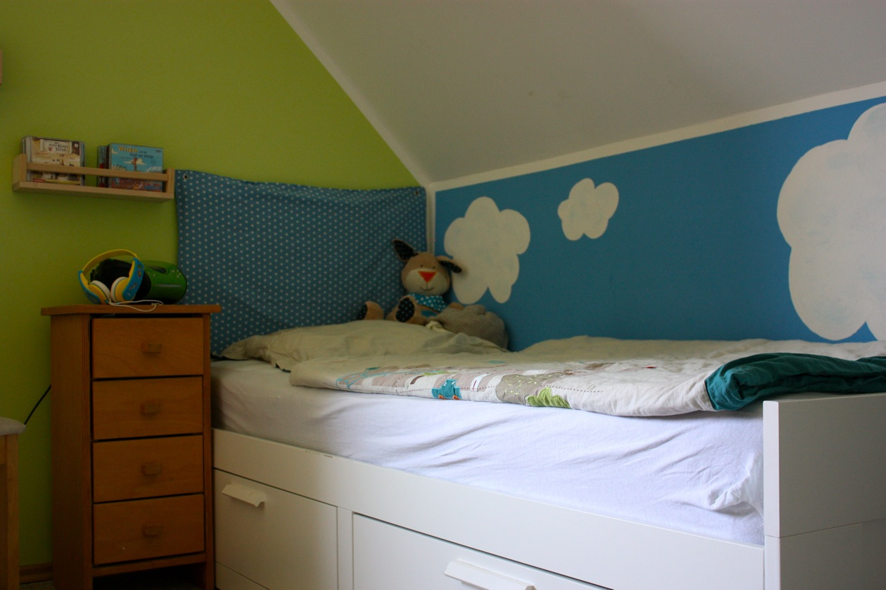 gem tlich schlafen sternen betthimmel n hen f rs. Black Bedroom Furniture Sets. Home Design Ideas