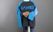 Selbstgenähtes Gamershirt für Jungs. JanaKnöpfchen - Nähen für Jungs