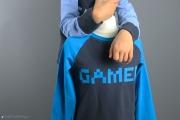 Shirt für Jungs mit Gamer-Applikation. JanaKnöpfchen - Nähen für Jungs