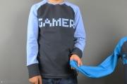 Gamer-Shirt für Jungs nähen. JanaKnöpfchen - Nähen für Jungs