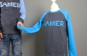 Shirt Gamer für Jungs genäht. JanaKnöpfchen - Nähen für Jungs