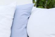 Gemütliche Kissen für die selbstgebaute Gartenschaukel. JanaKnöpfchen - Nähblog