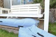 Wetterschutz für Gartenauflagen nähen. JanaKnöpfchen