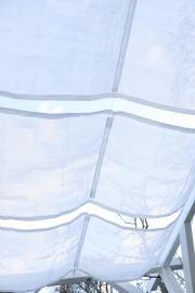 Sonnensegel für die Gartenschaukel nähen. JanaKnöpfchen - Nähblog