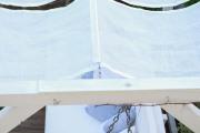 Befestigung für das selbstgenähte Sonnensegel. JanaKnöpfchen - Nähblog